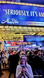 Musical da Broadway em Nova York - Aladdin