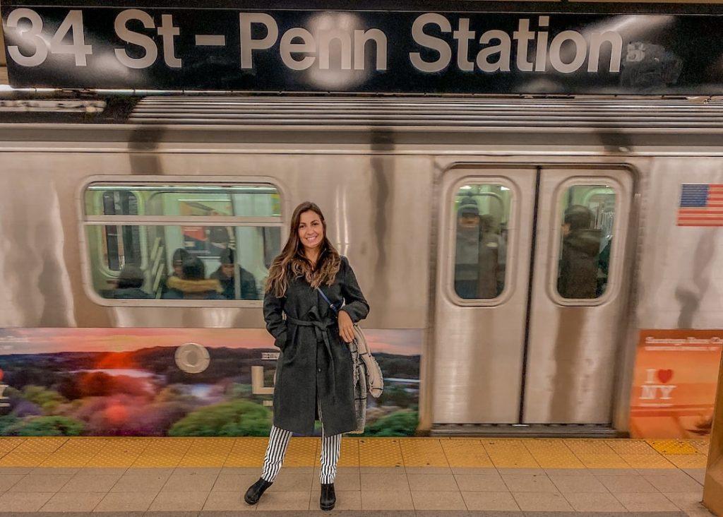 como chegar em Nova York metro