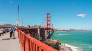Dicas de San Francisco - Califórnia - Golden Gate de bicicleta