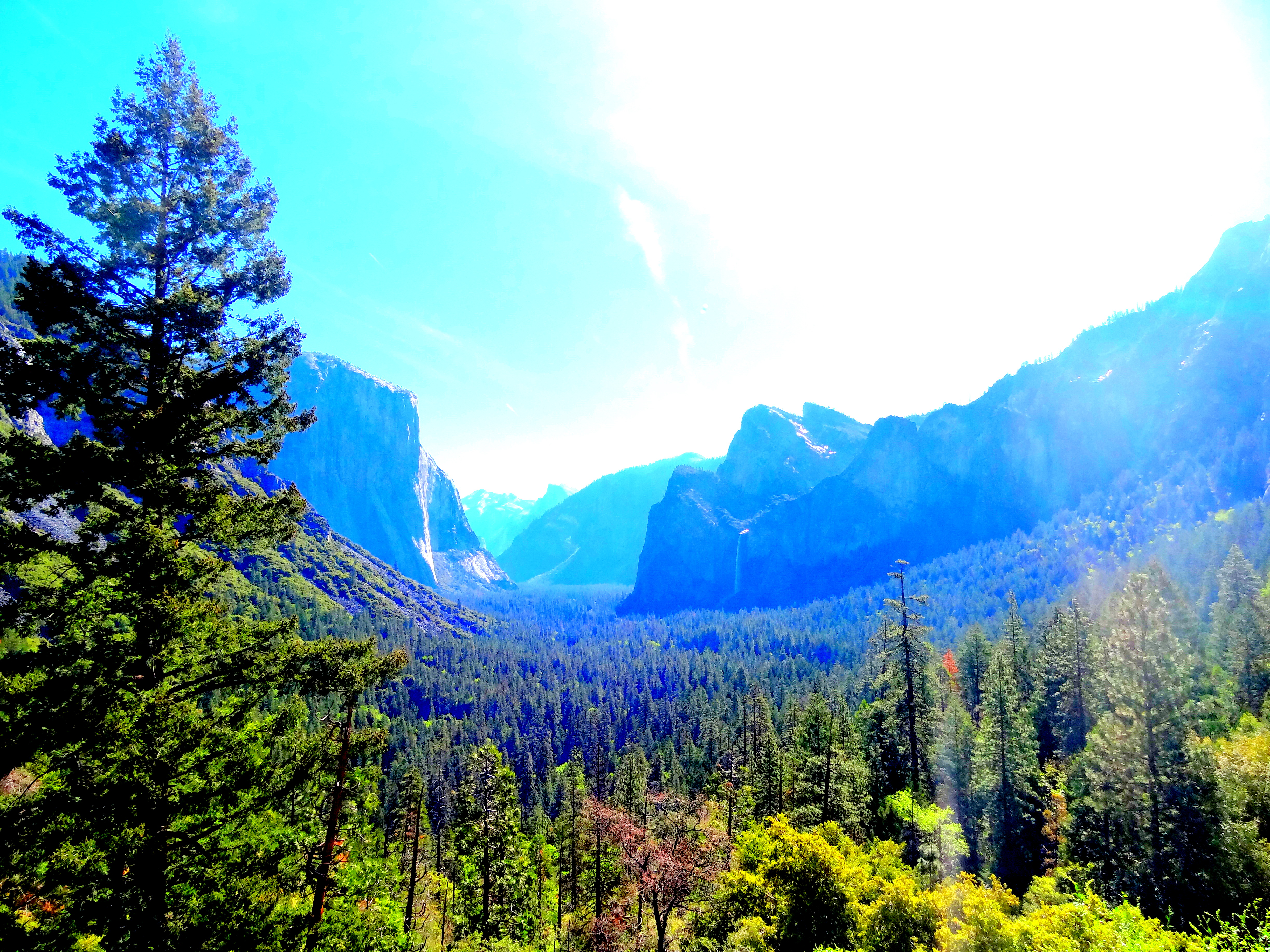 Tunnel View Point - Road Trip Califórnia - Yosemite Valley