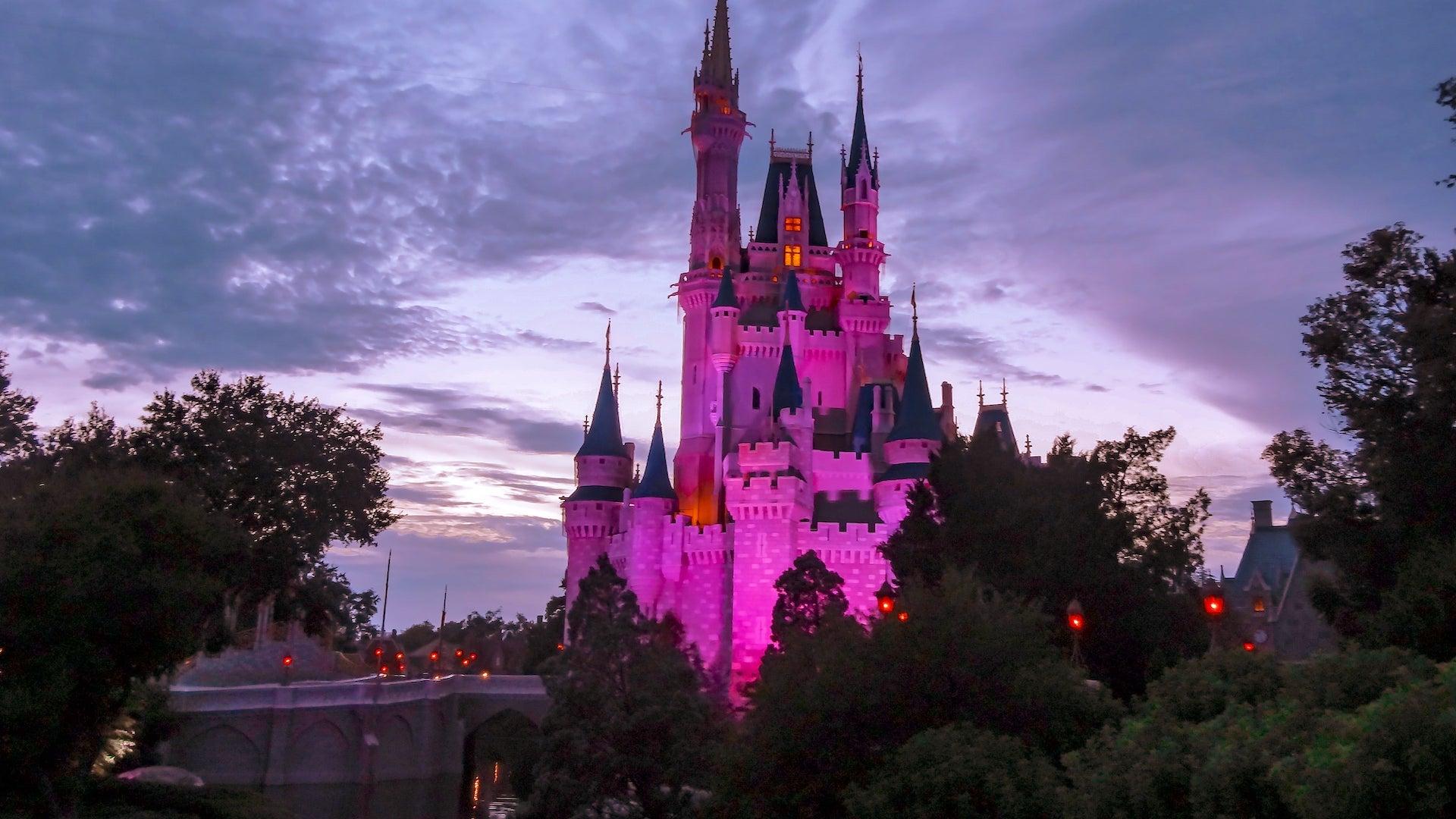Magic Kingdom na Disney em Orlando