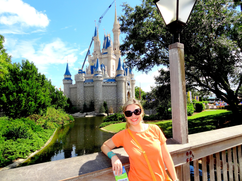 Castelo da Cinderela - Magic Kingdom em Orlando