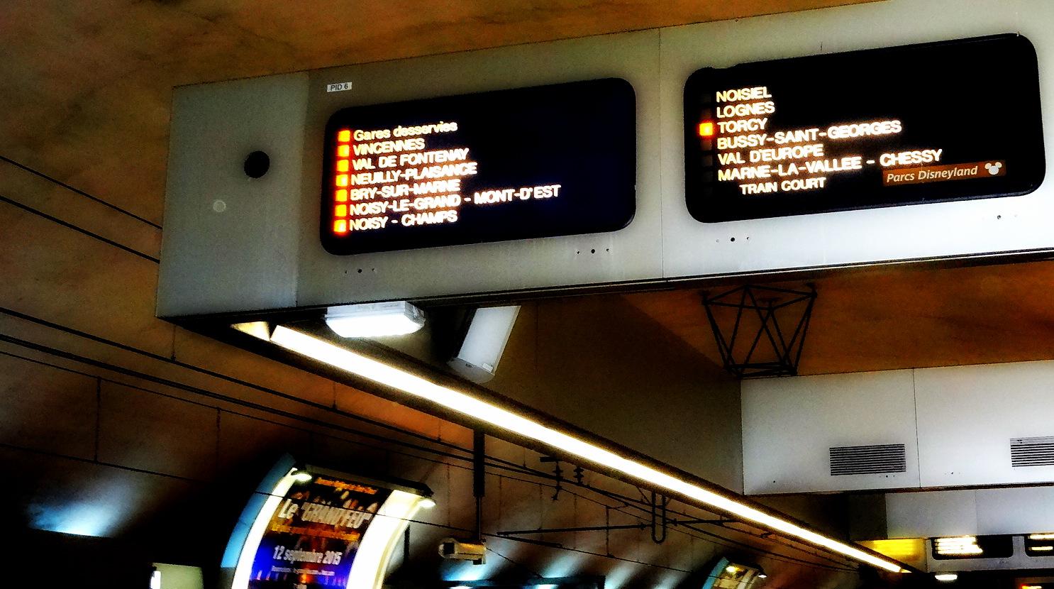 Trem Para ir a Disney de Paris