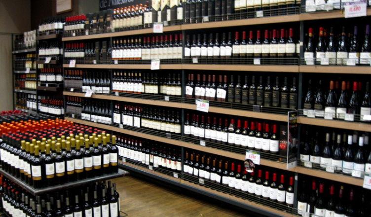 comprar vinho em Santiago