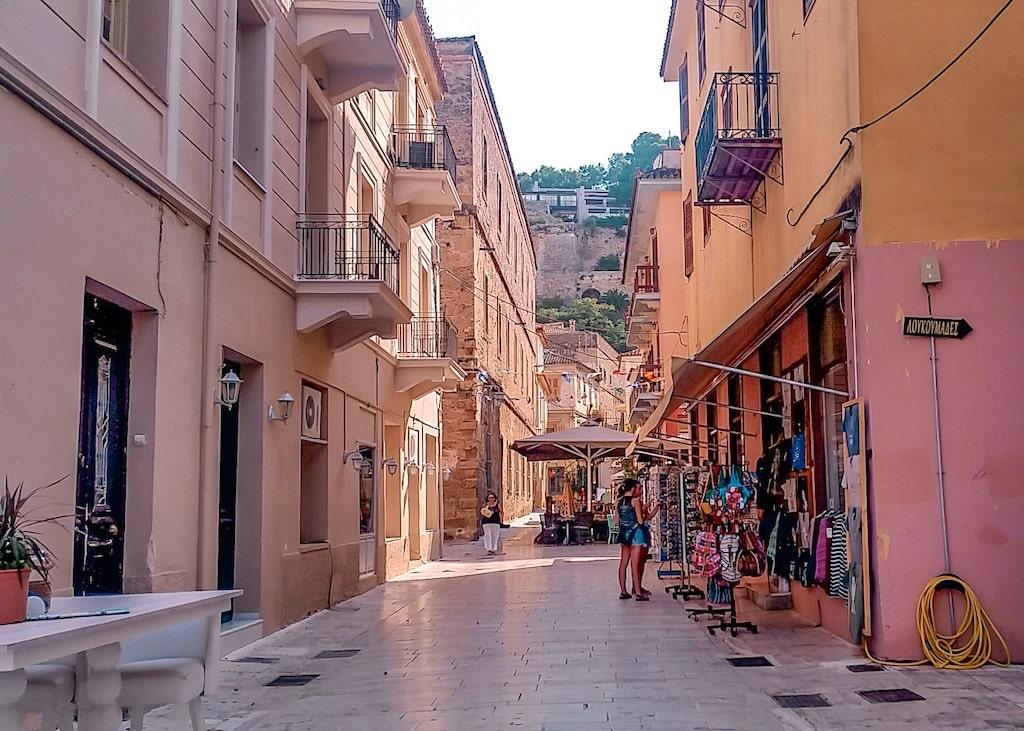Onde ficar em Nafplio - dicas de hotéis na Grecia