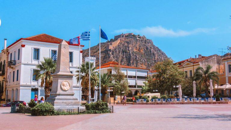 Nafplio - a cidade mais bonita da Grécia