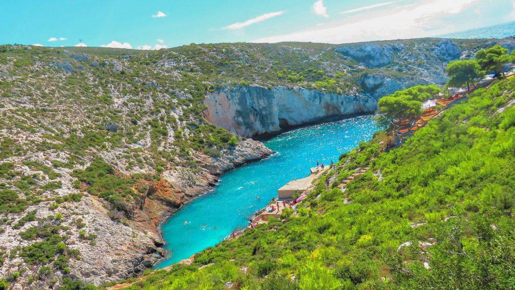 Porto Limnionas - Dica de praia em Zakynthos para passar o dia