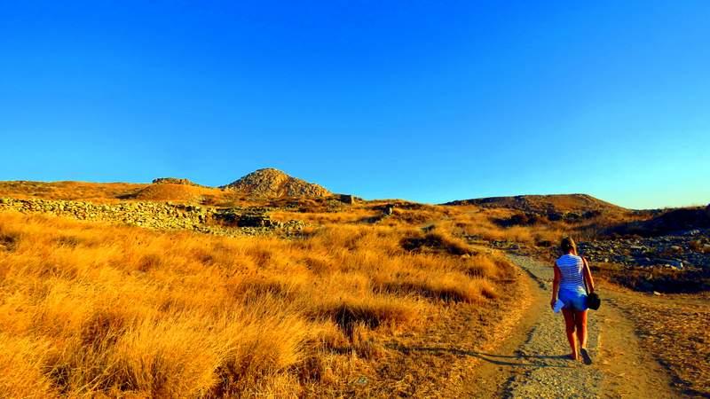O que fazer em Mýkonos - Ilha de Delos
