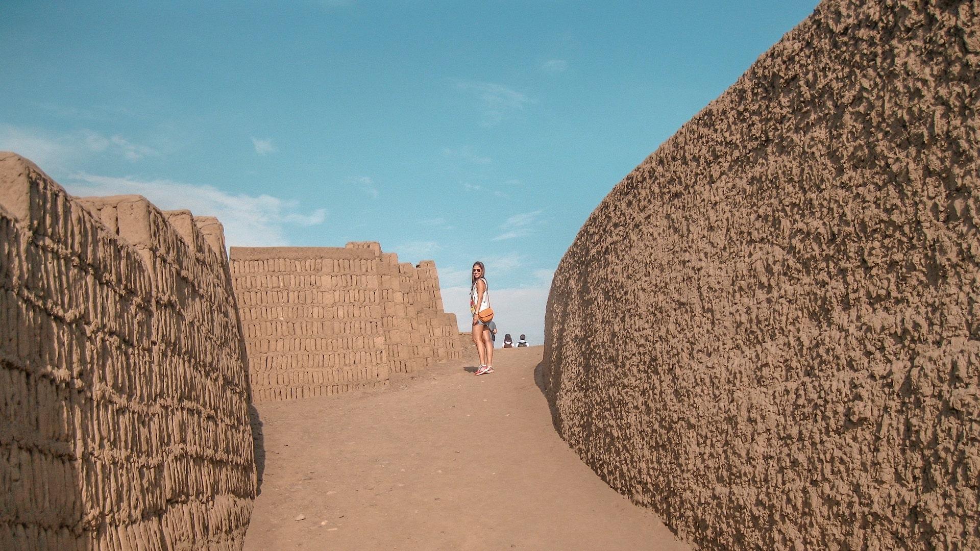 Huaca Pucllana - pontos turísticos de lima o que fazer