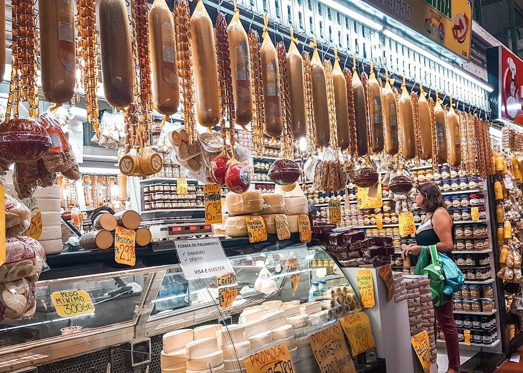 Queijos no Mercado Central de BH