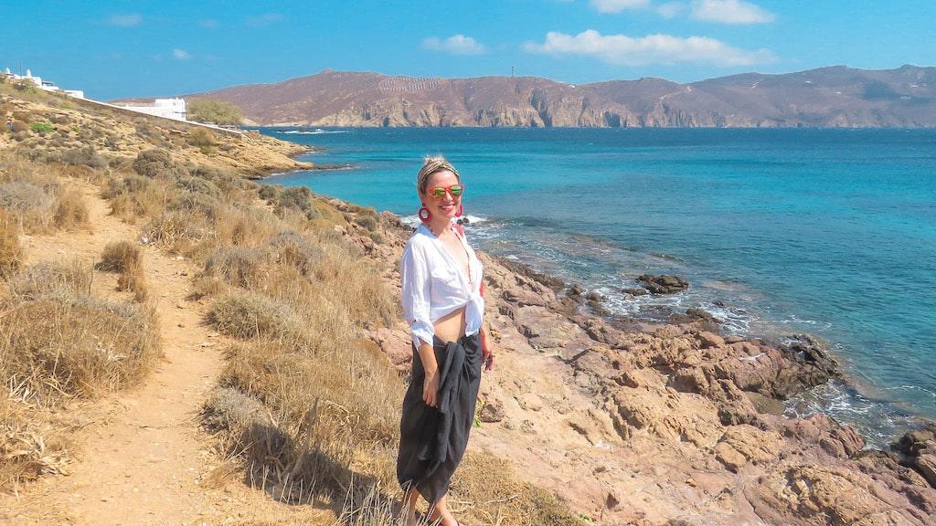 Praia Agios Sostis - Mykonos - Grécia