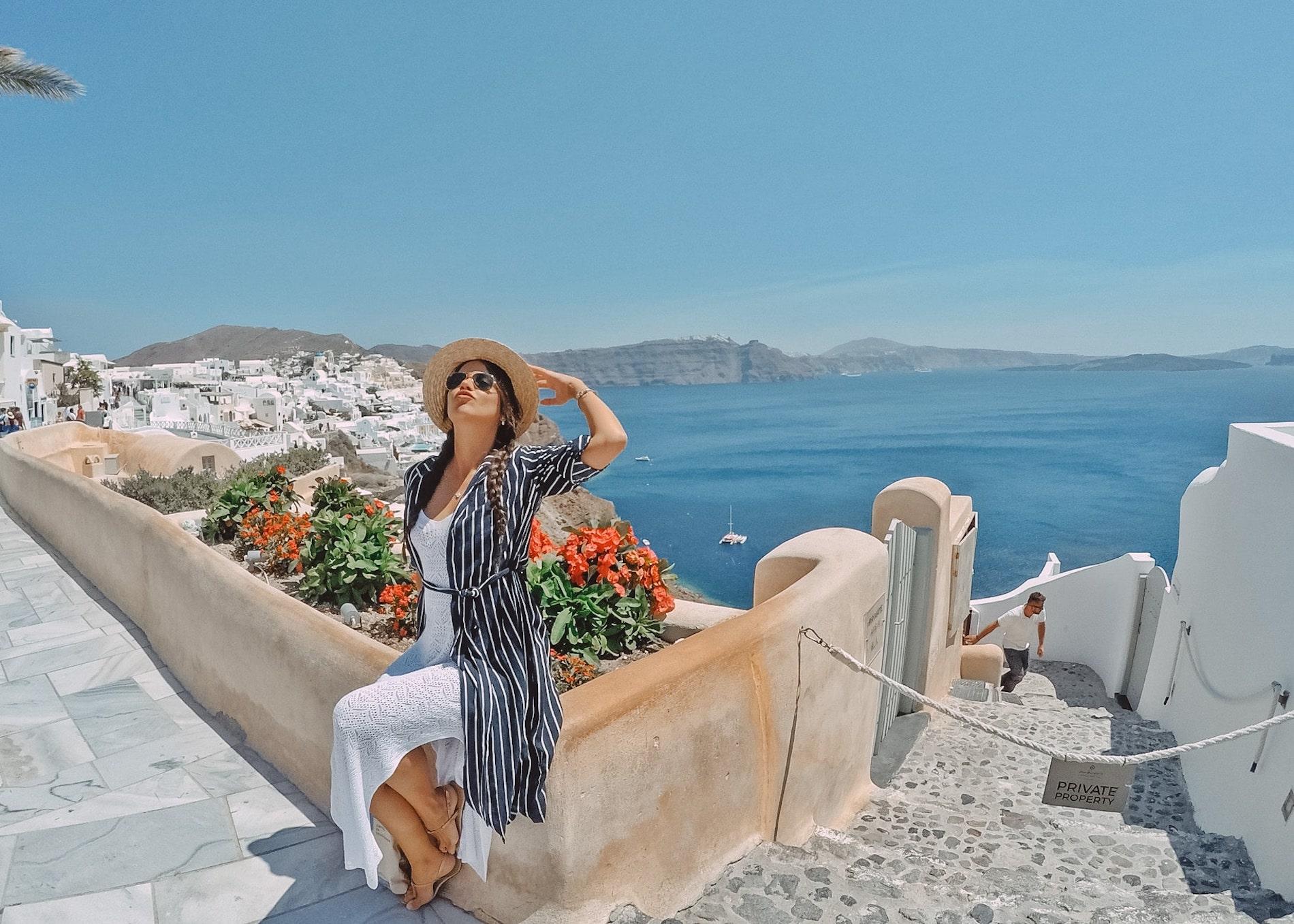 looks de viagem para usar na Grécia