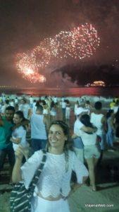 Réveillon na praia de Copacabana