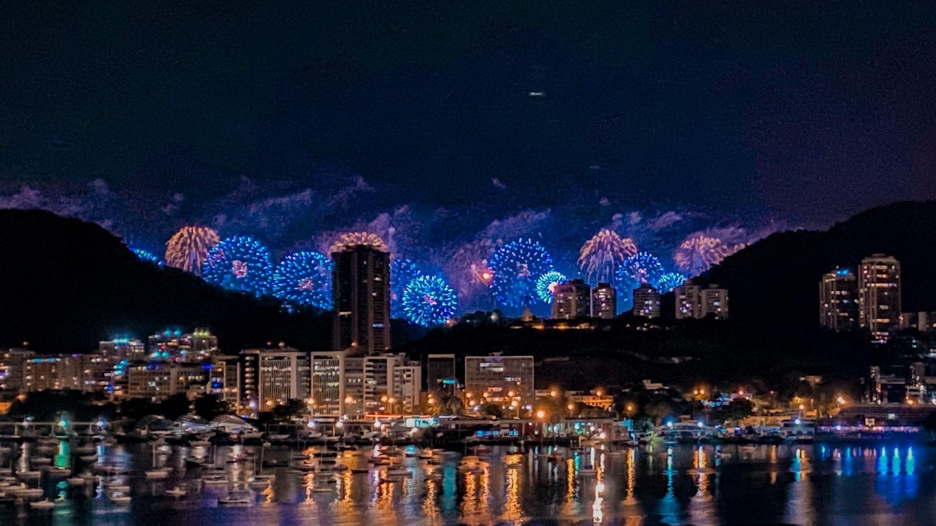 desejos para o ano novo - Reveillon Rio de Janeiro