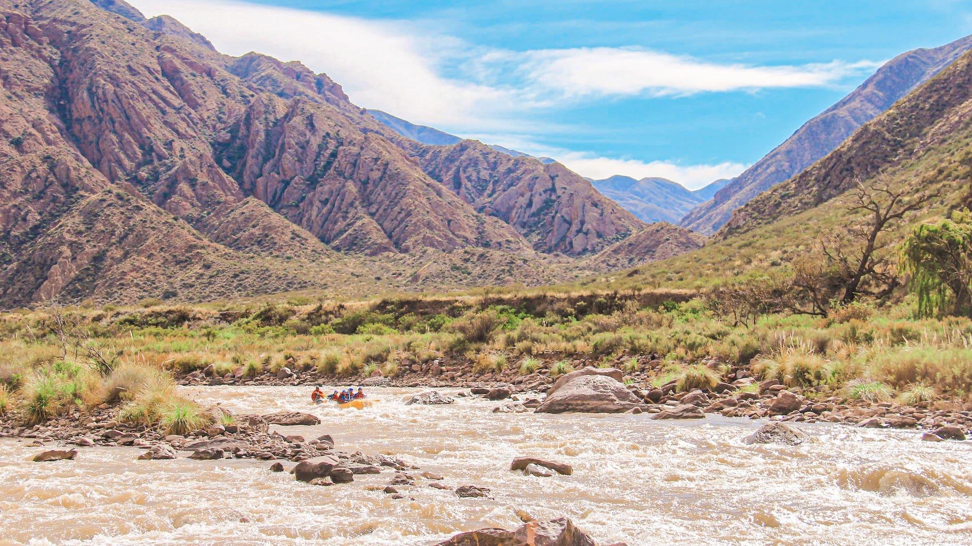 rafting em Portrerillos - o que fazer em Mendoza - argentina