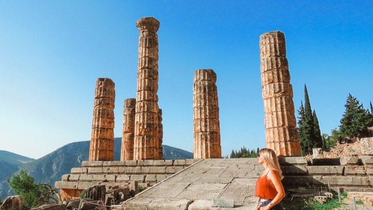 Delfos na Grécia - dicas para conhecer o museu e as ruínas