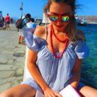 Leitura em Mykonos