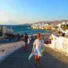 Moinhos de Vento em Mykonos