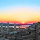 Pôr do sol na Ilha de Delos – O que fazer em Mykonos