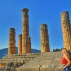 Templo de Apolo em Delfos