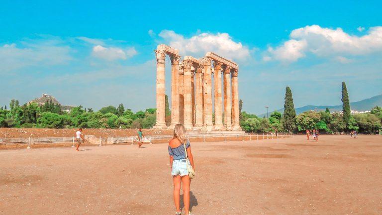 Templo de Zeus em Atenas