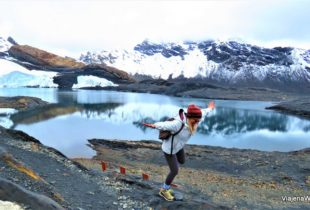 Chegando ao Glacier Pastoruri