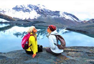 Companheiras de Viagem em Huaraz – Tour Glacier Pastoruti
