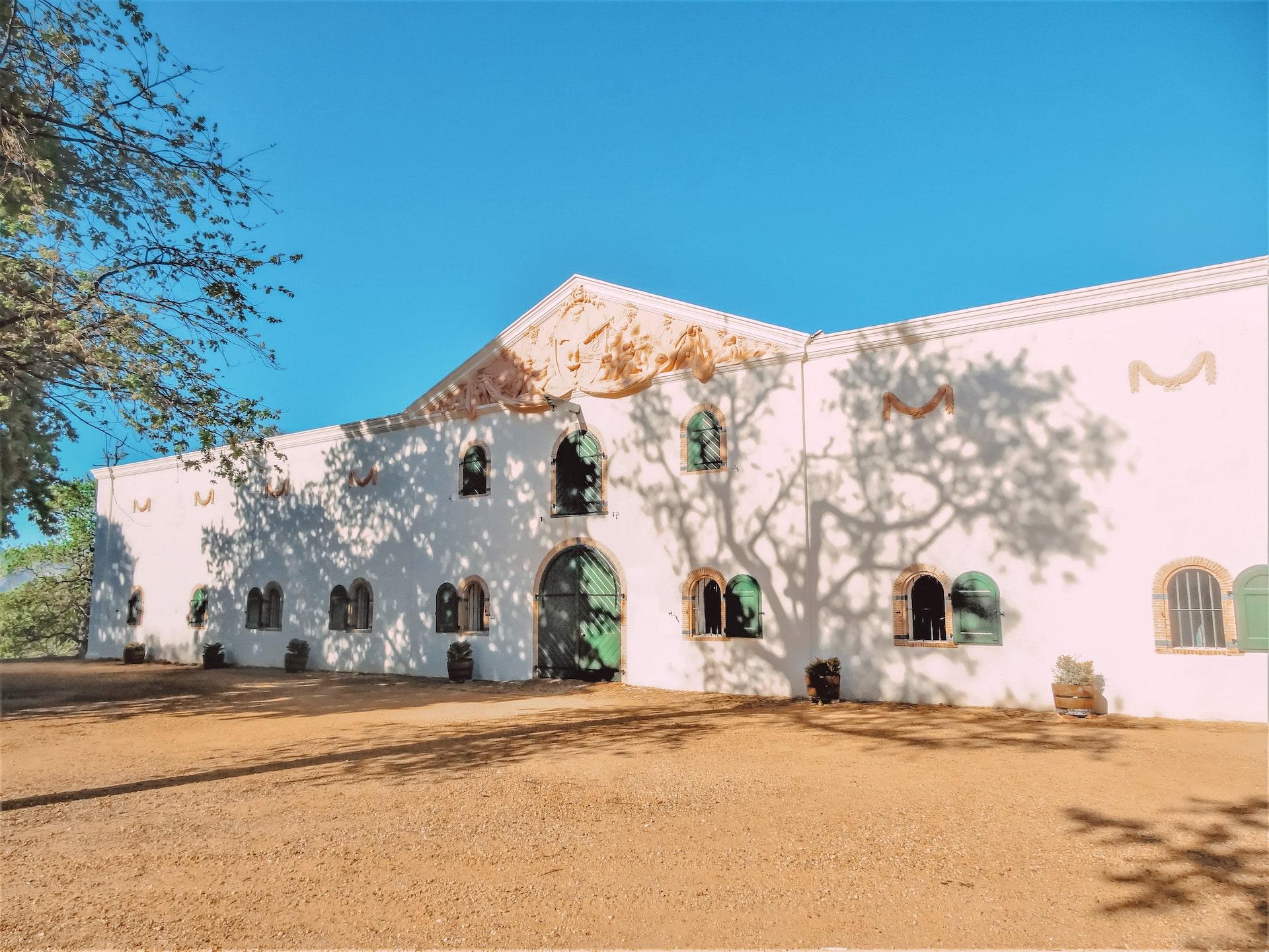 Groot Constancia Vinícola perto de Cape Town - Africa do Sul