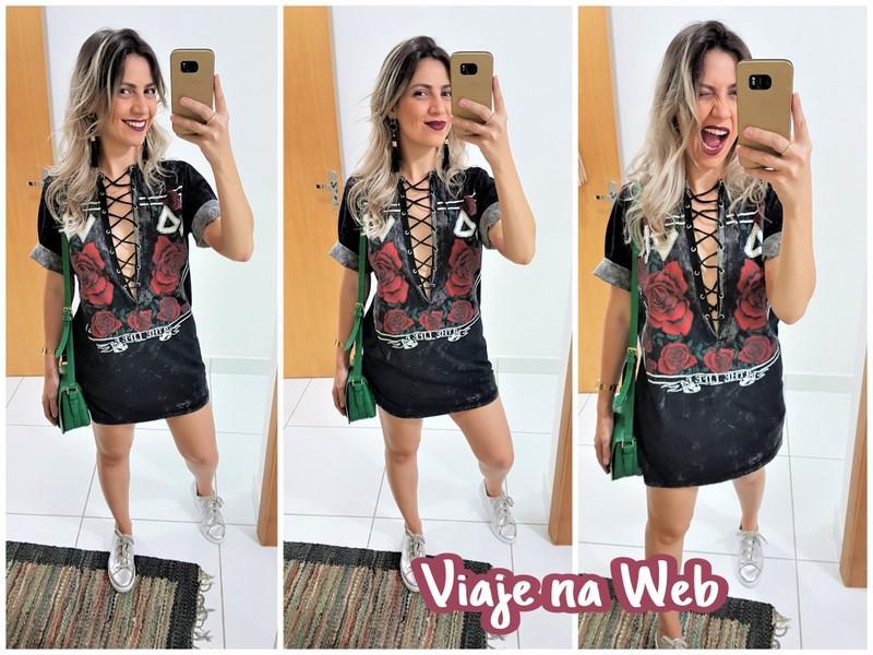 Look para usar no Rock in Rio