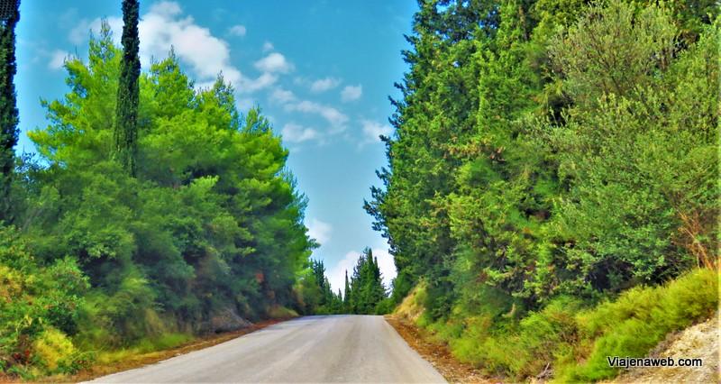 estradas gregas - dirigir na Grécia