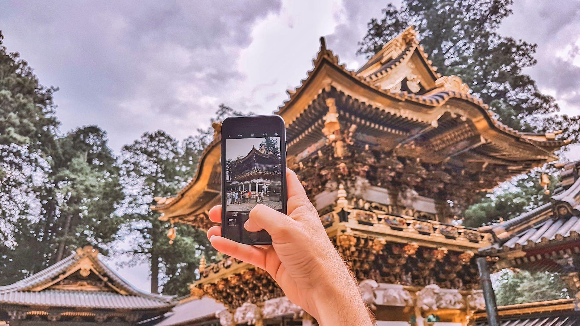 internet no celular no exterior - Chip de internet internacional - Toshogu em Nikko