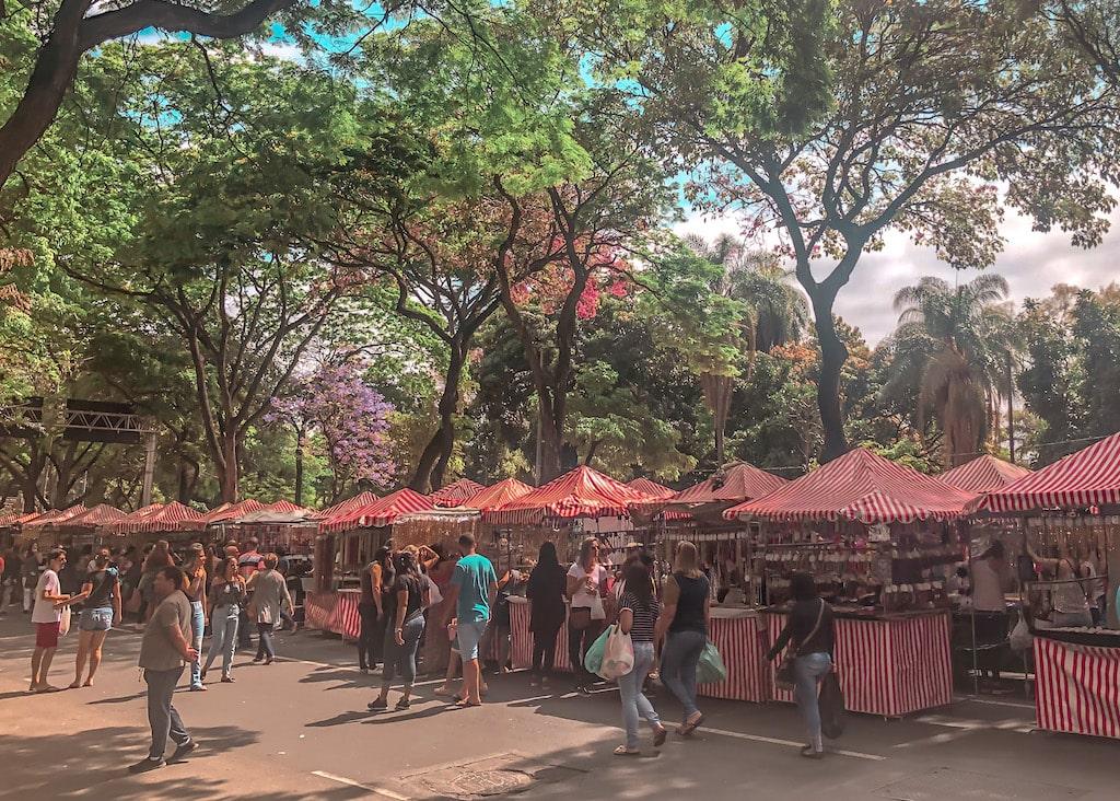 Feirinha Hippie de Belo Horizonte na Afonso Pena