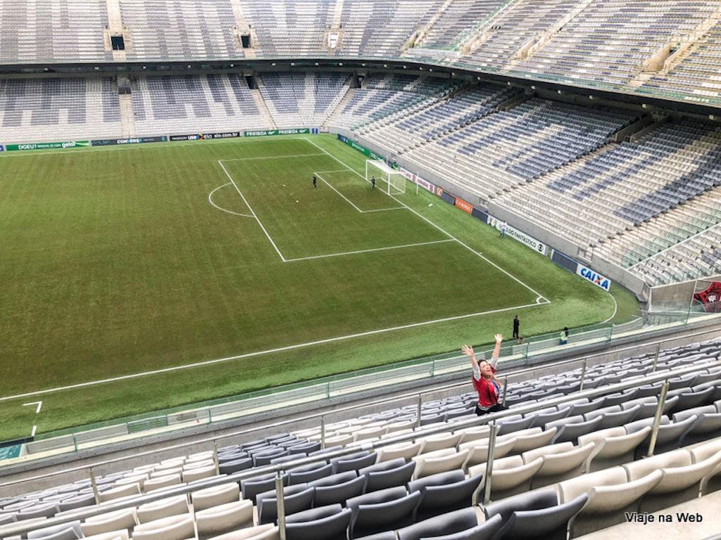 Como chegar - Onde fica o Arena da Baixada em Curitiba