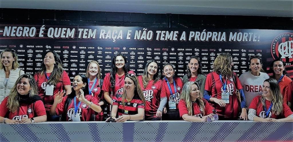 Sala de imprensa do Atlético Paranaense-curitiba