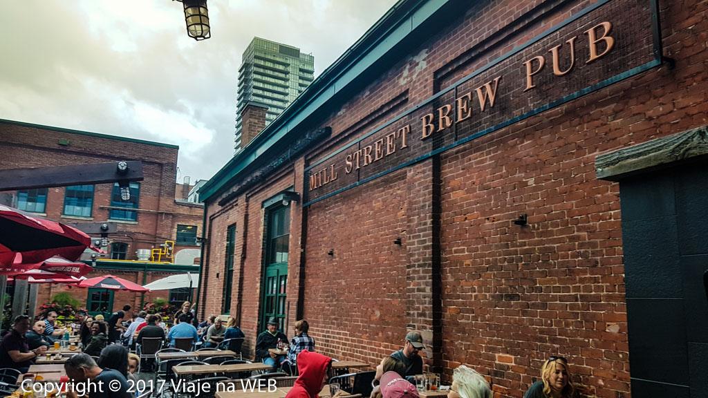 Cervejarias em Toronto - Mill Street Brew Pub