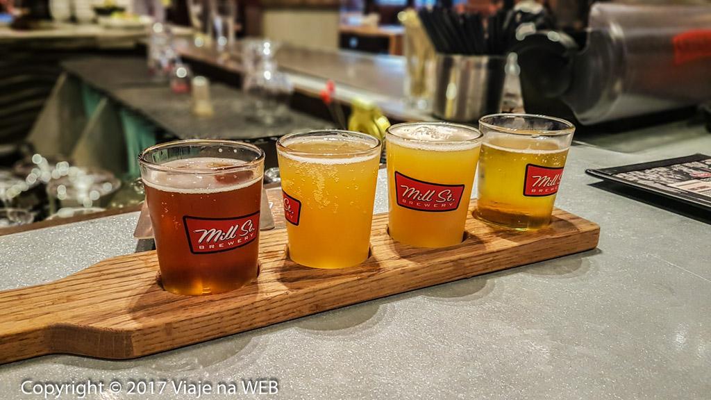 Degustação de Cervejas em Toronto - Regua de sabores