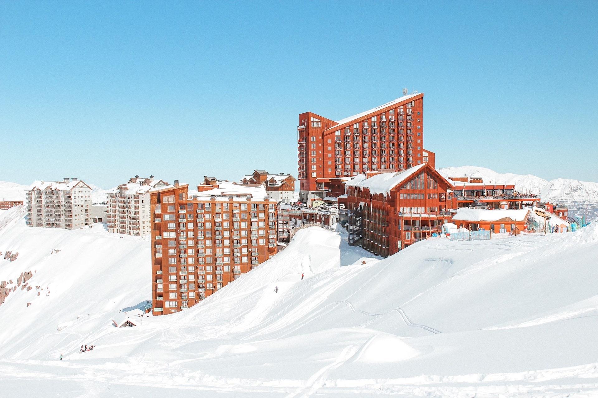 Valle Nevado no Chile - estação de ski mais perto de Santiago