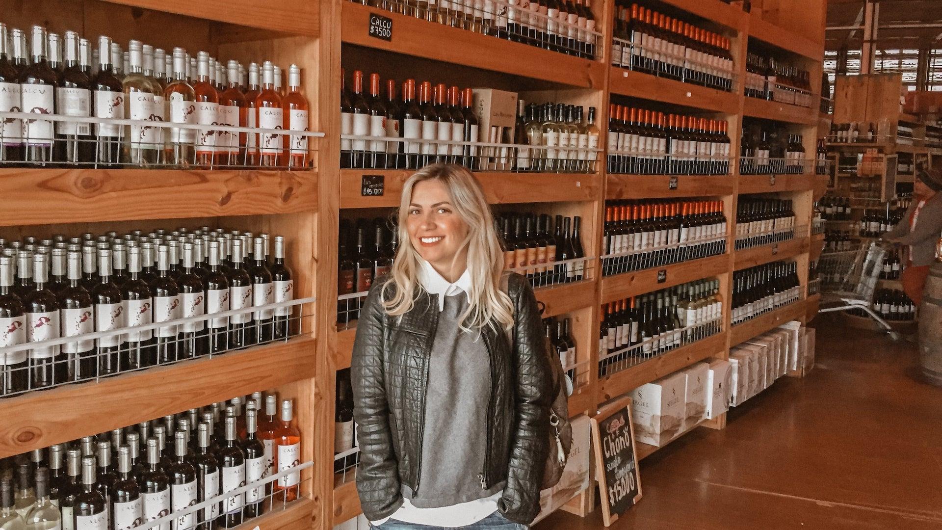 onde comprar vinho em Santiago