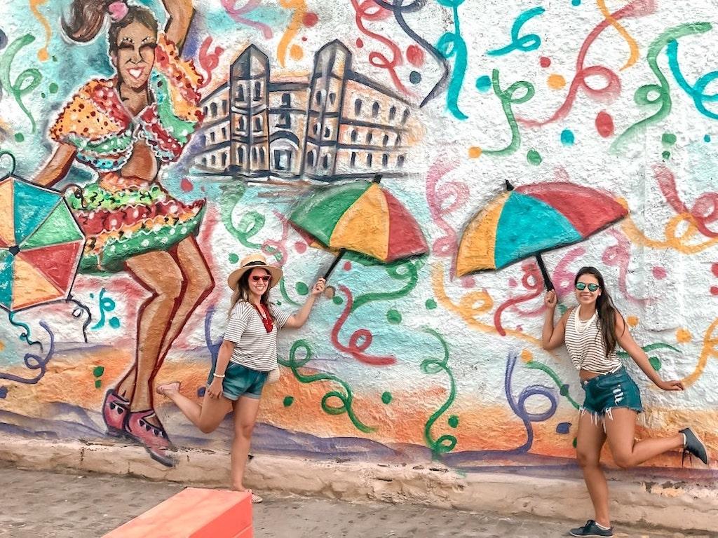 Carnaval em Recife no Brasil