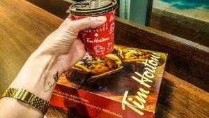 Frech Vanilla do Tim Hortons - café da manha no canada
