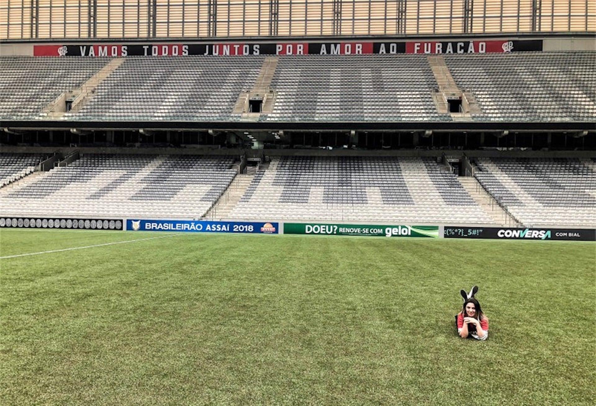 Tour pela Arena da Baixada em Curitiba - estádio do Atlético Paranaense