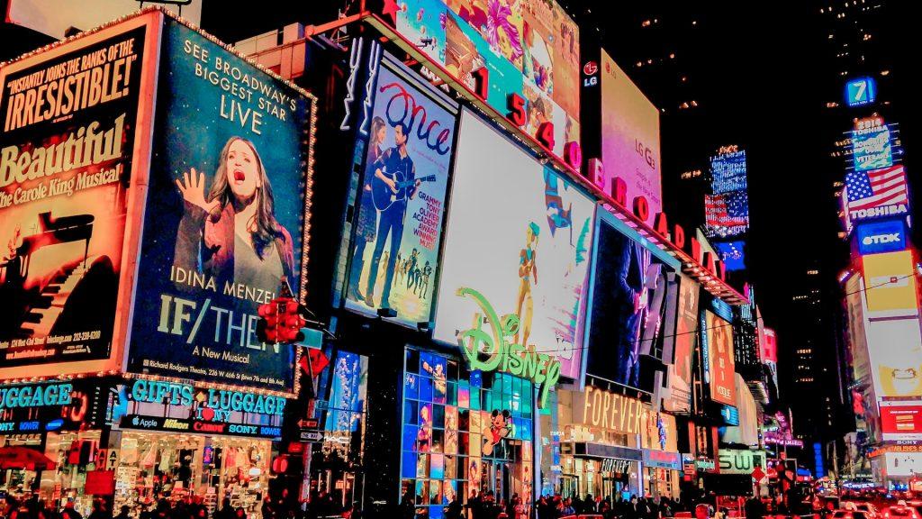 musical da broadway em Nova York