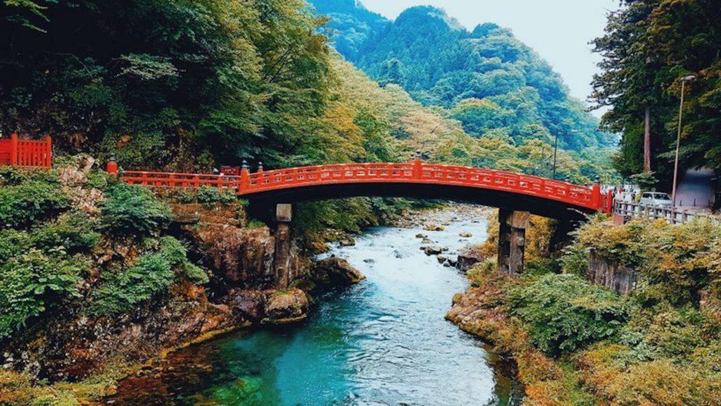 O que fazer em Nikko - Shinkyo- Ponte Sagrada no Japão